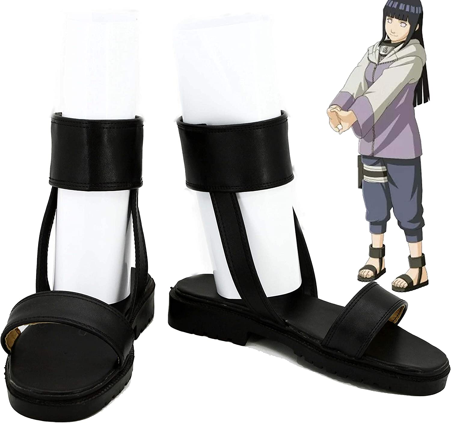 NARUTO The Last Hyuga Hinata Cosplay Shoes Boots Custom Made