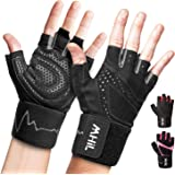 MhIL Workout Gloves Mens & Womens – Weight Lifting Gloves Male & Female, Gym Gloves for Men – Exercise Gloves, Training Glove