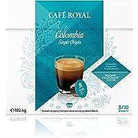 Café Royal Single Origin Colombia Nouvelle Génération - 48 dosettes Compatibles avec le Système NESCAFE®* Dolce Gusto®* (Lot de 3X16)