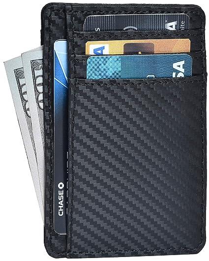 a9ecca983947 Clifton Heritage Leather Wallets for Men & Women – RFID Blocking Slim  Design Front Pocket Minimalist Wallet