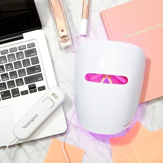 Máscara antiacné Neutrogena® Visibly Clear® de fototerapia: Amazon.es: Belleza