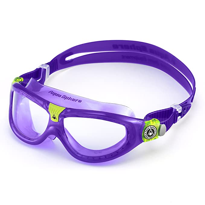 cc02087737af Aqua Sphere Seal 2 Occhialini da nuoto regolari, lenti viola/trasparenti  MS162132