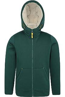 Fleece Hoodie Mountain Warehouse Alpine Fur Lined Full Zip Hoody