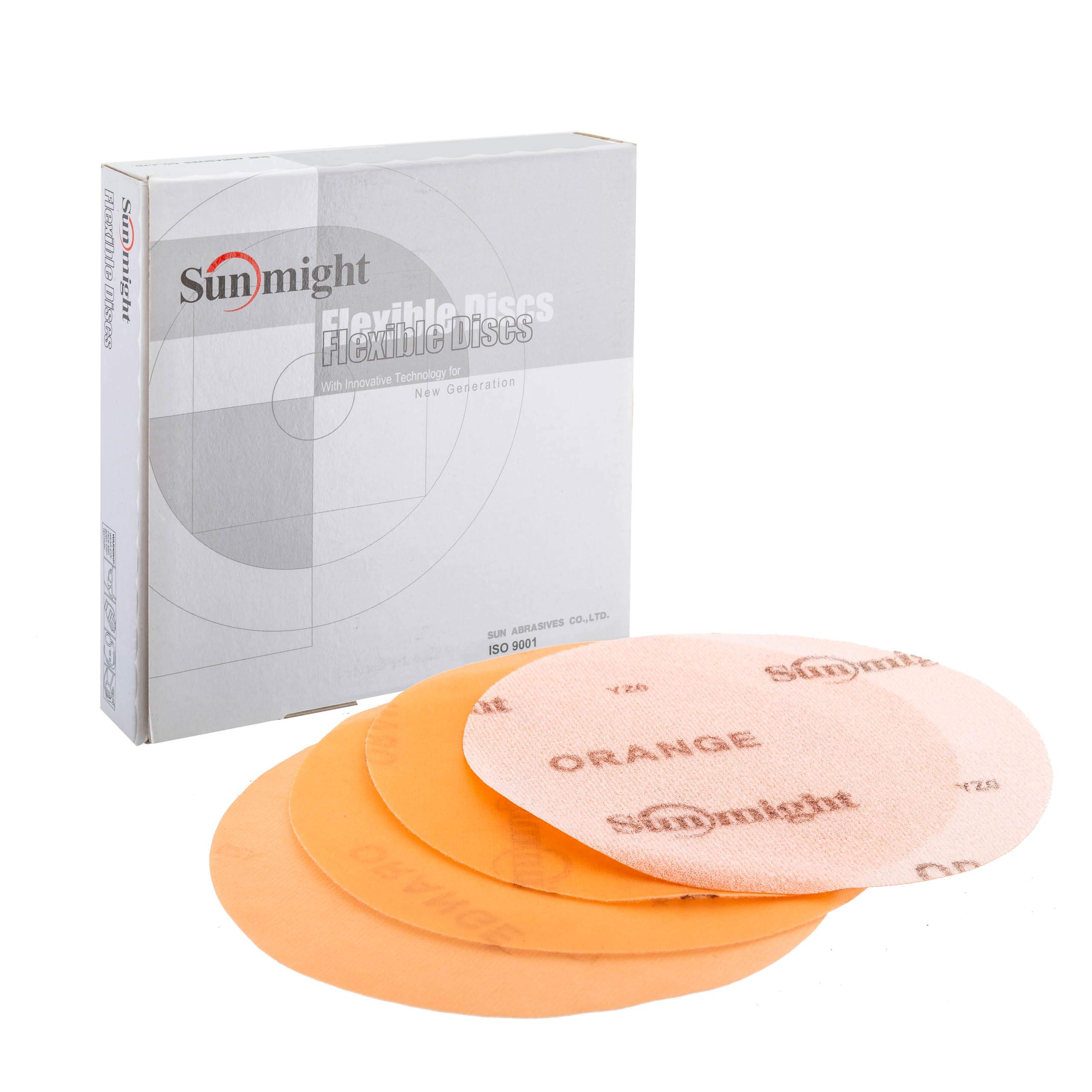 Sunmight 60222 1 Pack 6'' No Hole Flexible Disc