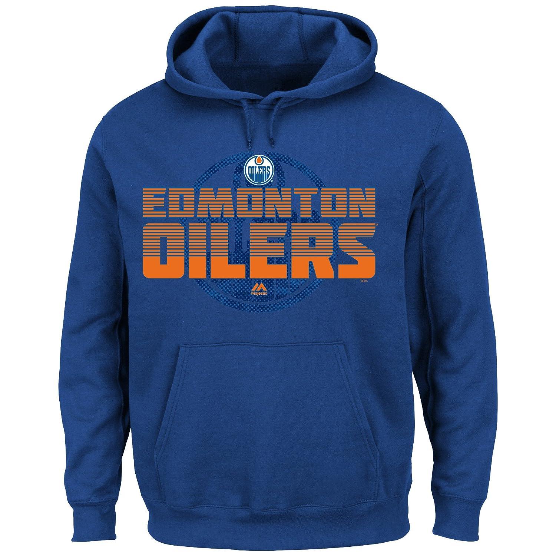 Profile Big & Tall NHL Edmonton Oilers Unisex Pullover Kapuze mit Print, Royal, XLT Profile Fortune NHLDEVILAMOI - ROYAL - XLT