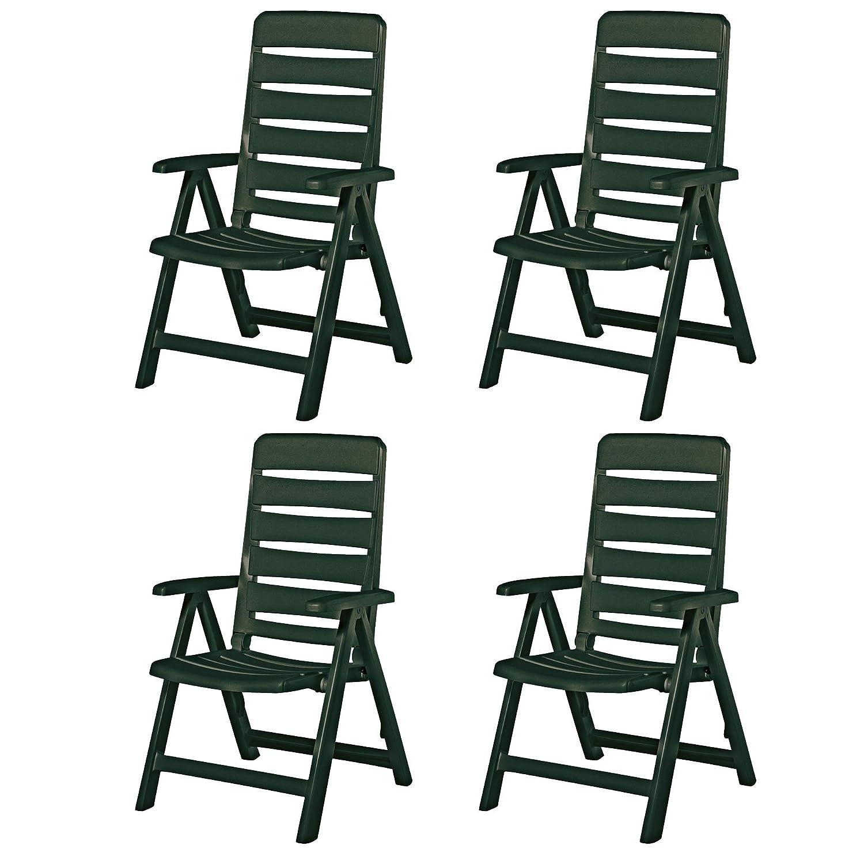 4 kettler nizza gartenst hle sessel gartenm bel klappsessel in gr n kaufen. Black Bedroom Furniture Sets. Home Design Ideas