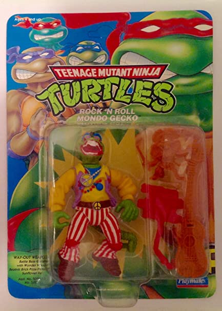 Amazon.com: Teenage Mutant Ninja Turtles Rock and Roll Mondo ...