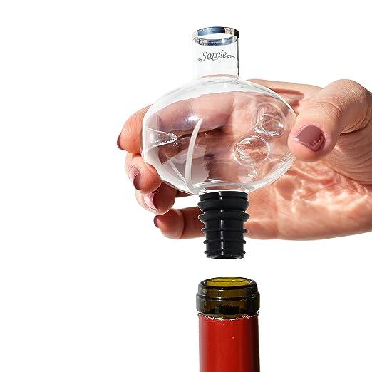 Amazon.com: Soiree – in-bottle Aireador de vino Decantador ...