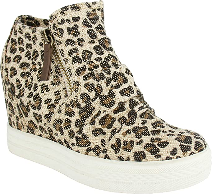 not rated leopard sneakers