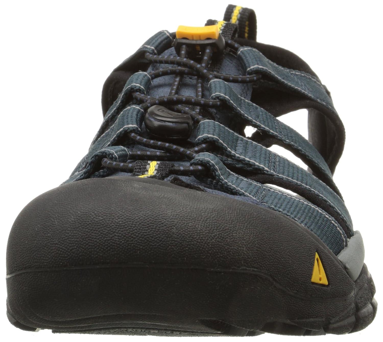 KEEN Men's Newport D(M) H2 Sandal B001HCGRJ8 17 D(M) Newport US Navy/Medium Grey 468463