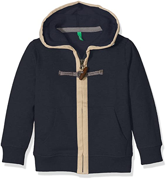 United Bambino Of Con 3bdec5218 Colors Benetton Felpa Cappuccio vrqwvz