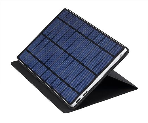 Amazon.com: solartab® 5.5 W Cargador solar con 13.000 mAh ...