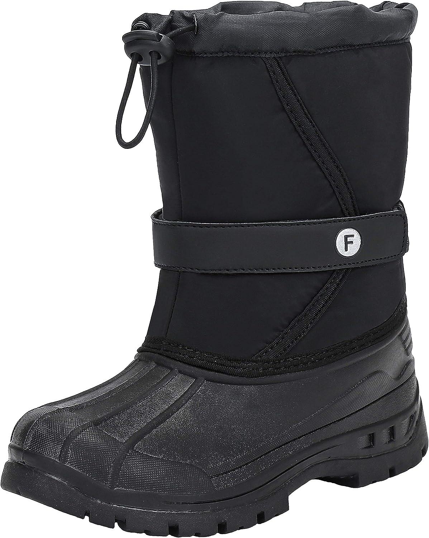 Mishansha Bottes de Neige Enfants Chaudes et Imperm/éable Snow Boots,GR.28-38