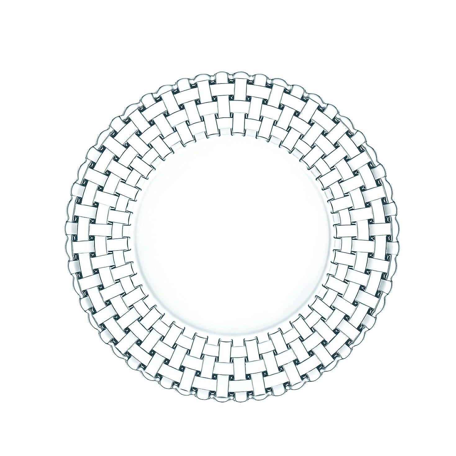 排他的建築家お祝いナハトマン(Nachtmann) ジンユィ プレート クリスタルガラス 19cm 98065 2枚入