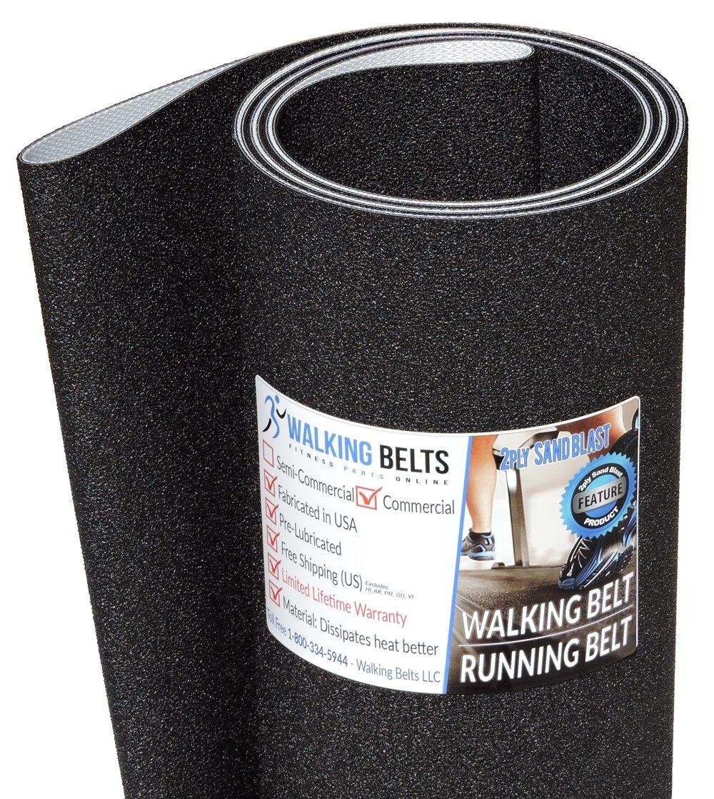 WALKINGBELTS Walking Belts LLC - Life Fitness Activate CRC INT HIGH OST-INTHC-01 S/N:OPT107488 Running Belt 2ply Sand Blast by WALKINGBELTS (Image #1)