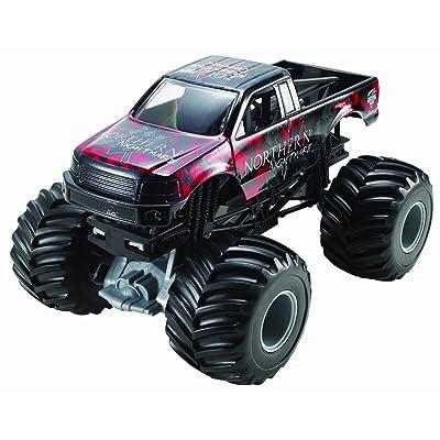 Hot Wheels Monster Jam Northern Nightmare Die-Cast Vehicle, 1:24 Scale: Toys & Games
