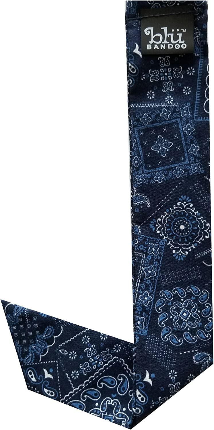 Blubandoo Water Activated Evaporative Neckbandoo Cool Tie With Cooling Crystals.