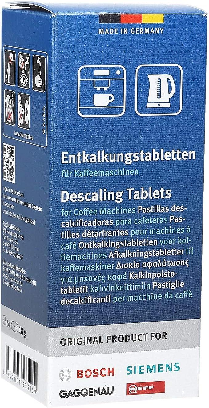 2 Véritable Détartrant Tablettes Pour Bosch TASSIMO Machine à Café 310967S