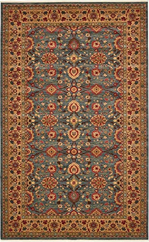 Unique Loom Edinburgh Collection Oriental Traditional French Country Blue Area Rug 10' 6 x 16' 5