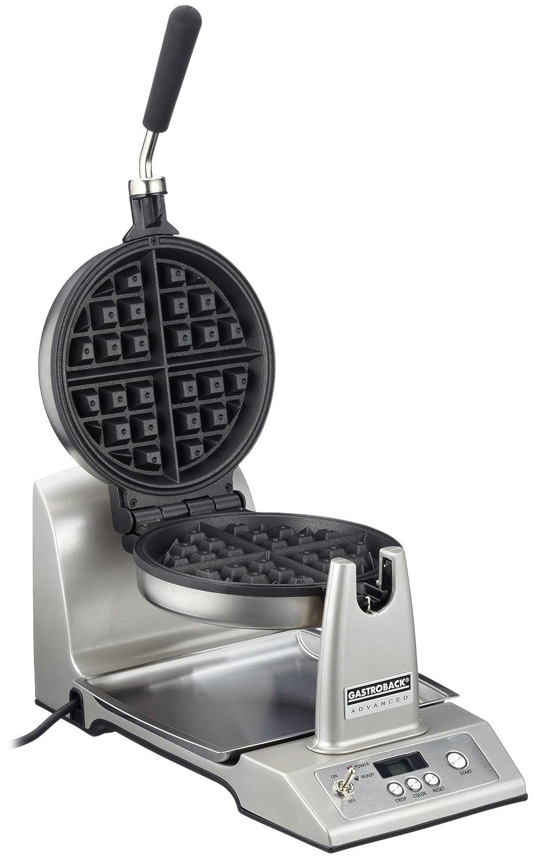 Gastroback 42419 Silver waffle iron - waffle irons (220/240 V)