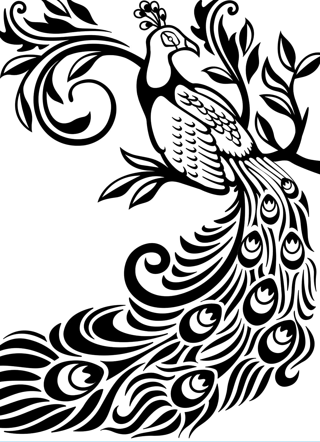 Darice EB12-19127 Embossing Folder, 4.25 by 5.75-Inch, Peacock
