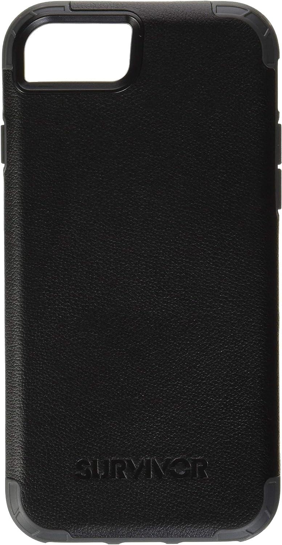 Survivor Prime Case Compatible with iPhone SE (2020), iPhone 8, iPhone 7, iPhone 6/6S (Black)