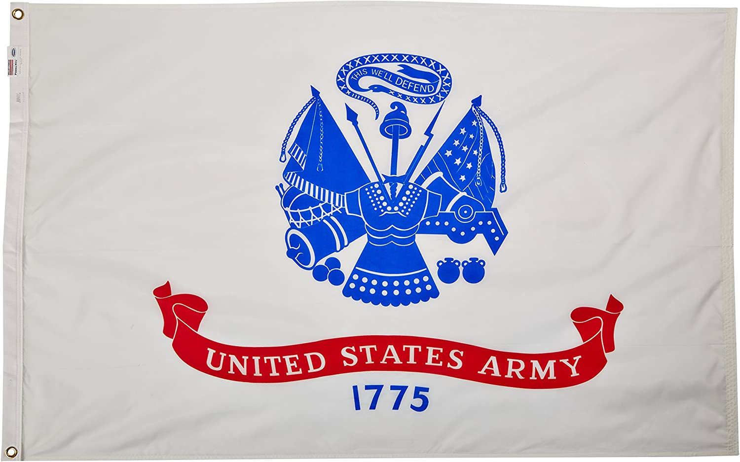 Valley Forge Flag Made in America 3' x 5'Nylon United States Army Flag