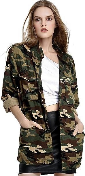 Damenmode Cardigan Strickjacke Weste Jacken Longshirt Bluse Militär Winter Jacke