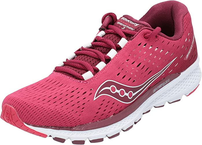 Saucony Breakthru 3 Womens Zapatillas para Correr - 42.5: Amazon.es: Zapatos y complementos