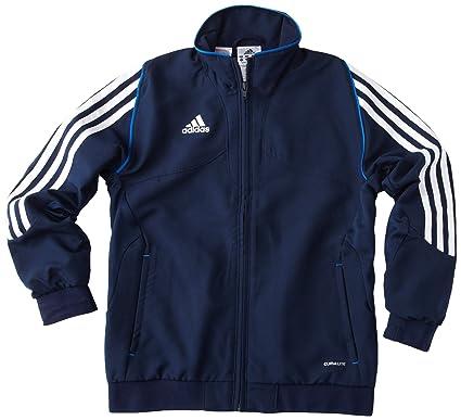 37e6077a8217 adidas T12 Boys' Tracksuit Top Blue Collegiate Navy Size:FR : 6 ans ...