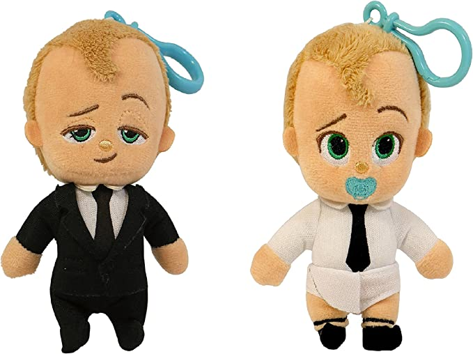 3pcs New Dreamworks Movie The Boss Baby Plush Soft Dolls Toy Gifts