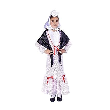Disfraz de madrileña chulapa niña - 9-11 años