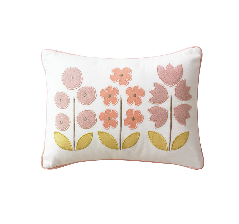 Dwellstudio Boudoir Pillow, Zinnia Rose (Discontinued by Manufacturer) B820-68-19
