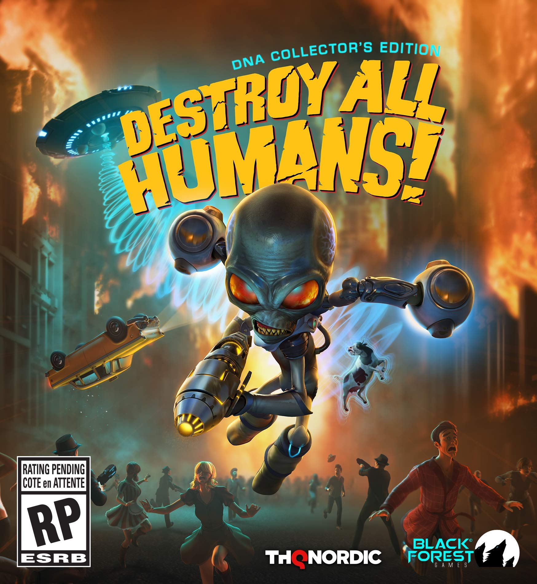 Destroy All Humans! DNA Collector's Edition - PC by THQ Nordic