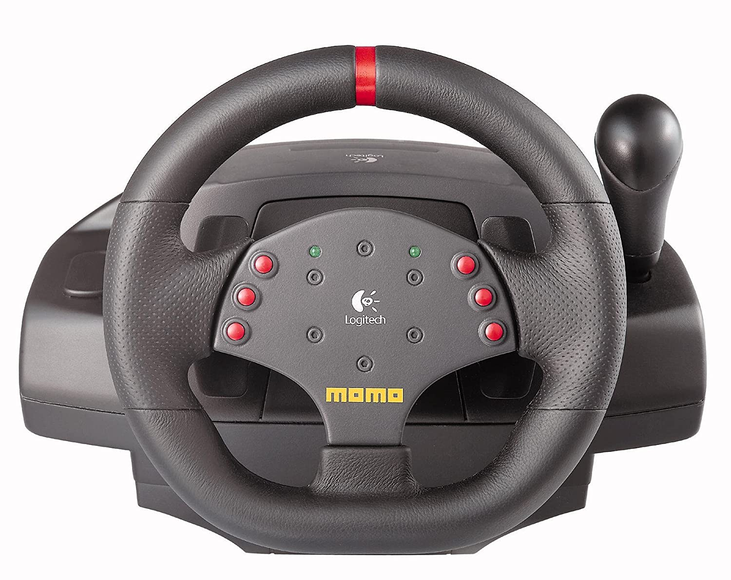 dc76fa41c60 Logitech Momo Racing Force PC Steering Wheel USB Refresh Packaging:  Amazon.co.uk: Computers & Accessories