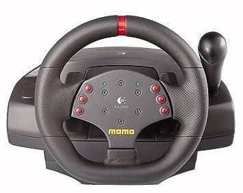 14c4c389941 Logitech Momo Racing Force PC Steering Wheel USB Refresh Packaging ...