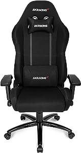 AKRacing AK BK Core Series EX Gaming Chair, Black