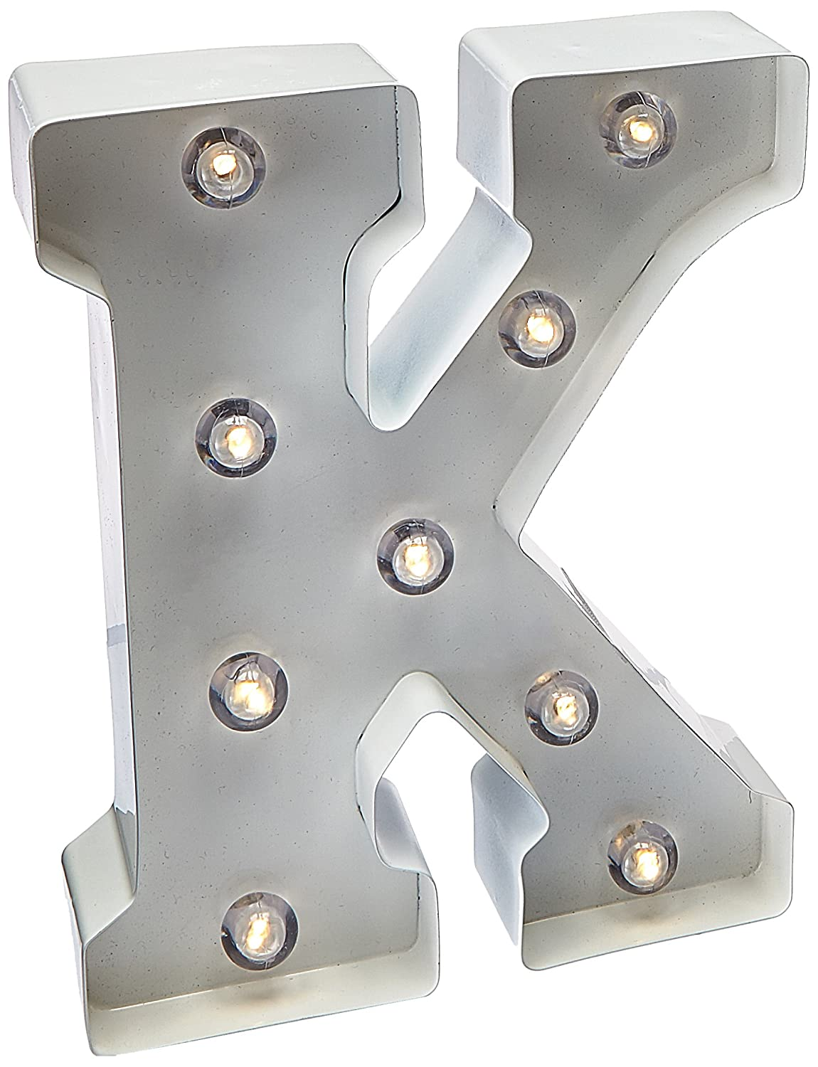 Darice Light Up White Marquee Letters - Letter J - 9.875 inches 5915-787