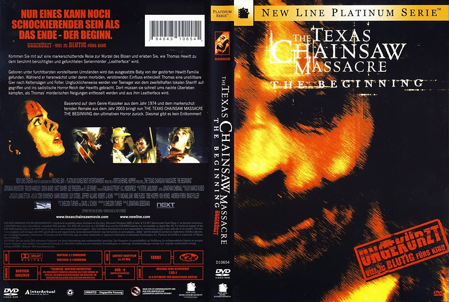 texas chainsaw massacre the beginning deutsch
