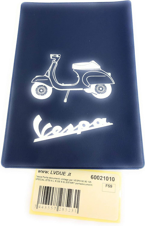 Vintage Dokumententasche Für Vespa 50 90 125 Special Ets N L R Ss S Elestart Auto