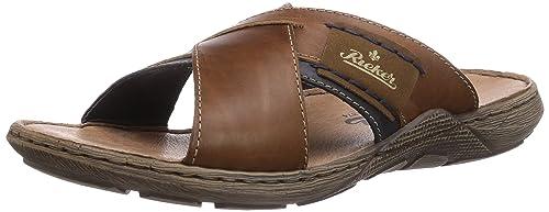 1b19f18514fb Rieker Men s 22099-25 Open Toe Sandals