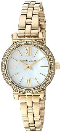 7f6de6906487 Image Unavailable. Image not available for. Color  Michael Kors Women s  Sofie Analog-Quartz Watch ...