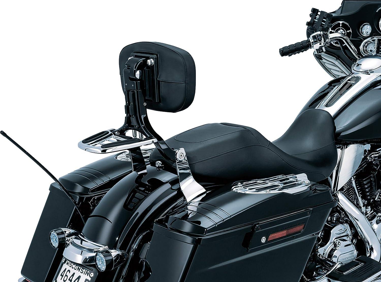 Kuryakyn Multi-Purpose Backrest Quick Release Mount Kit Chrome for Harley 2014