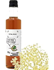 Social Syryp Elderflower Cordial Mixer - 500mL (16.9 oz) | Bar Syrup for The Master Mixologist, Free Recipe E-Book, Impress Your Guests with an Orange Blossom Cocktail, Product of Canada