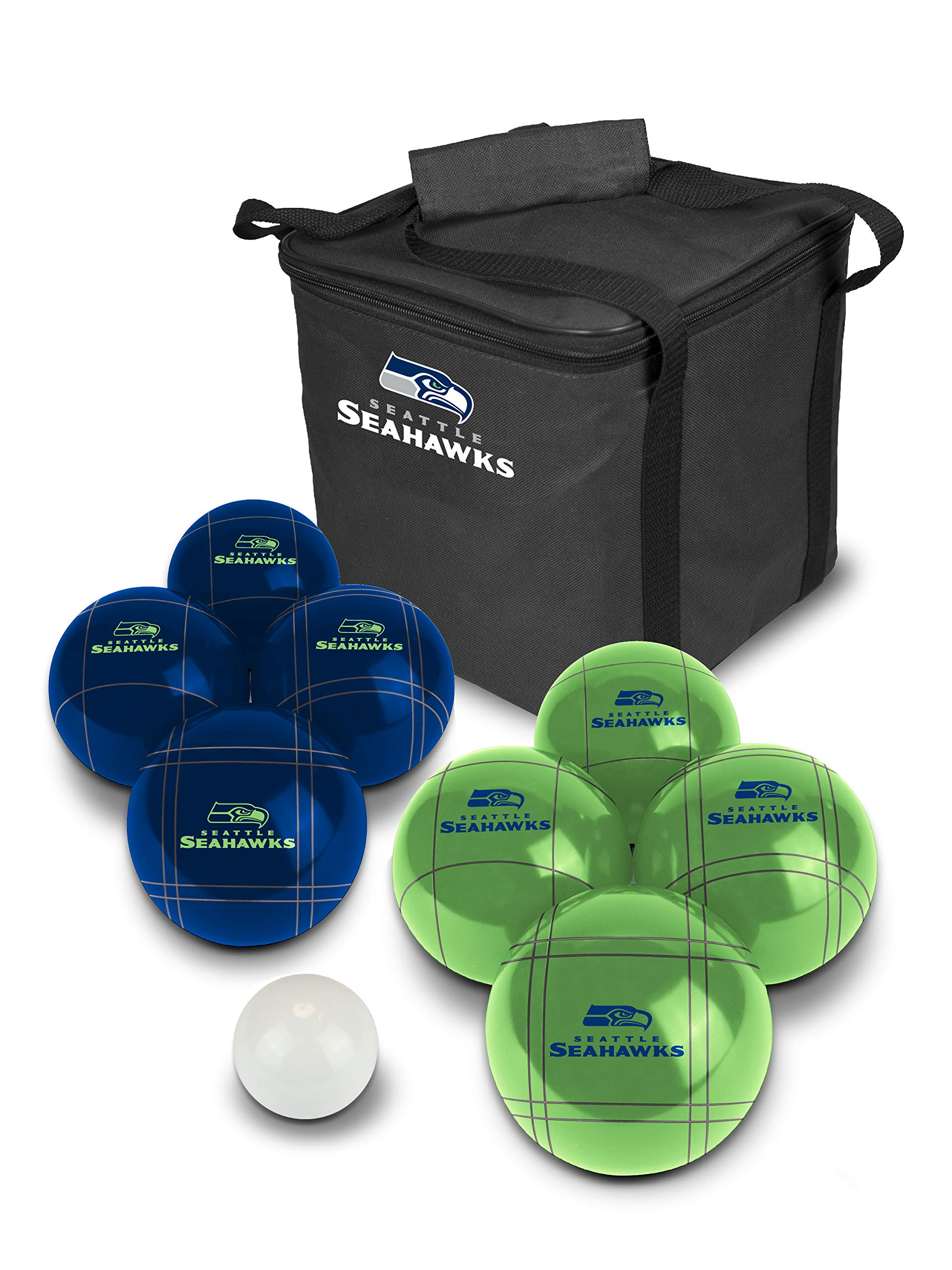 PROLINE NFL Seattle Seahawks Bocce Ball Set by PROLINE (Image #1)