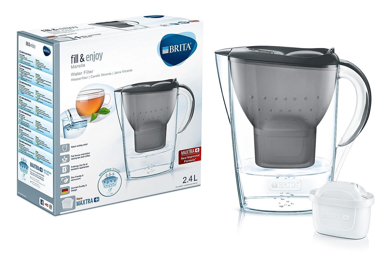 Brita Wasserfilter Marella, inkl. 1 Maxtra+ Filterkartusche Graphit ...