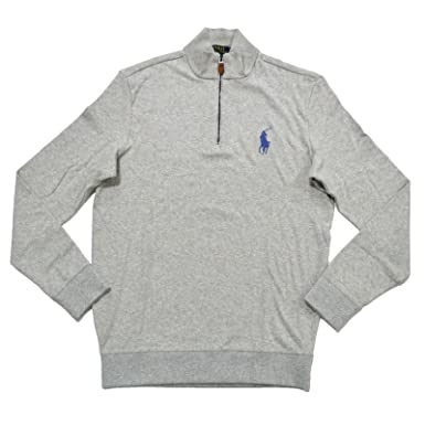 Polo Ralph Lauren Hombre Media Pullover Sweater: Amazon.es: Ropa y ...
