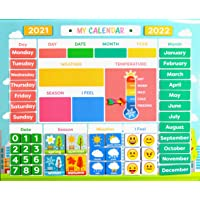 My First Daily Magnetic Calendar   Weather Station for Kids   Moods and Emotions   Preschool Learning Toys   Classroom…
