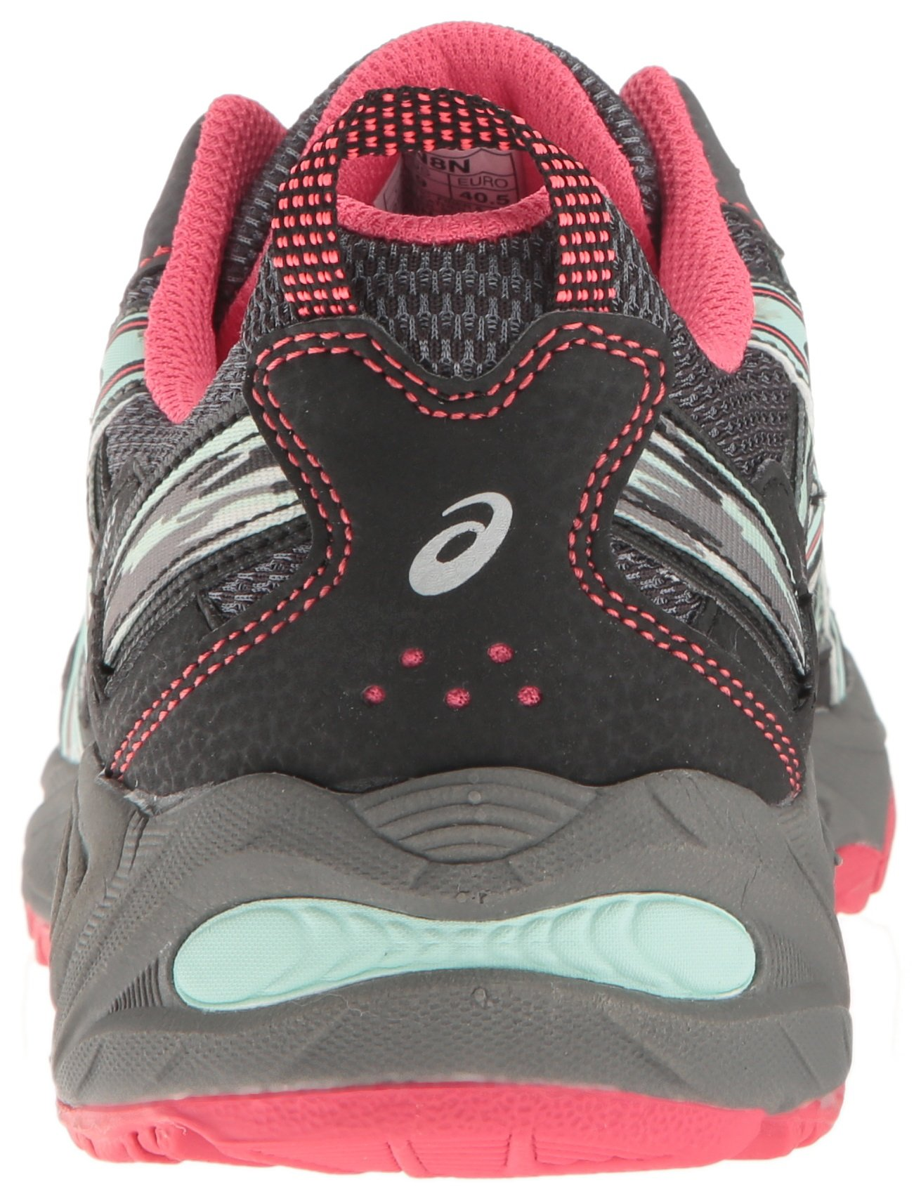 ASICS Women's Gel-Venture 5 Trail Runner, Carbon/Diva Pink/Bay, 9 M US by ASICS (Image #2)