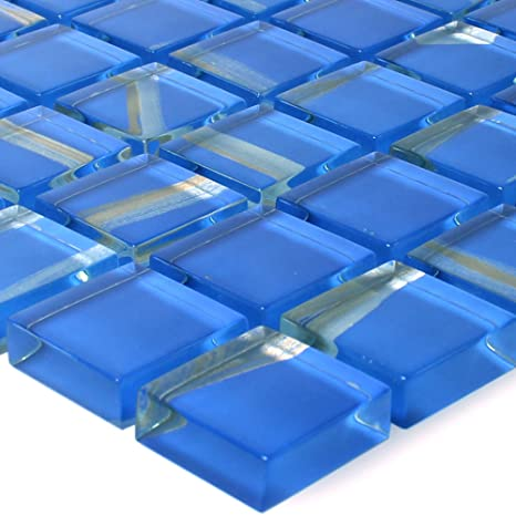 Häufig Glas Mosaik Ordabay Blau | Wandfliesen | Mosaik-Fliesen TO45